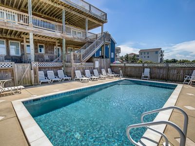 Photo for Salt Shaker | 358 ft from the beach | Private Pool, Hot Tub | Nags Head
