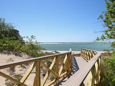Photo for Gulf-front, 1/4 mile from boat ramp, screened porch, sun deck