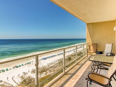 Photo for Intimate escape w/ a private balcony, shared pool, water views, & amenities