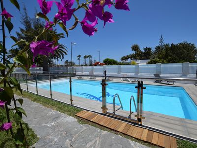 Photo for Warmed swimming-pool romantic location free wifi 500mt Dunes beach9