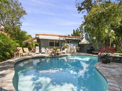 Photo for 2/2 Garden Oasis w/ Private Heated Saltwater Pool/Spa Close to Lauderdale Beach