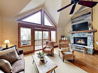 Living Room - Welcome! Your deluxe townhome is professionally managed by TurnKey Vacation Rentals.