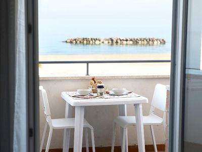 Photo for Holiday apartment Porto San Giorgio for 4 persons with 1 bedroom - Penthouse holiday apartment