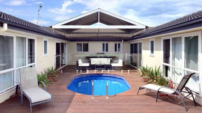 Photo for POOLSIDE, Gerringong -  4pm check out Sundays!