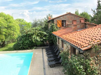 Photo for Vacation home Landhaus Belvedere  in Montevarchi  (AR), Siena and surroundings - 9 persons, 4 bedrooms