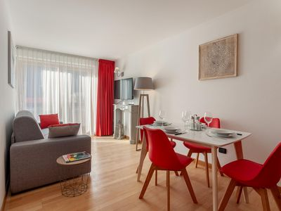 Photo for Cresta Signal apartment in Gressoney Saint-Jean with WiFi, private parking & lift.