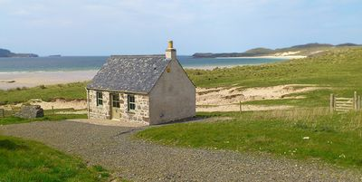 Photo for Balnakeil Beach Bothy, compact, but well fitted out - sleeps 2