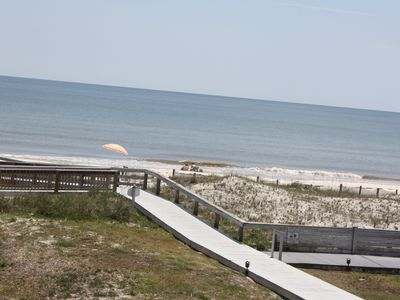 Photo for SAND, SUN, LAID BACK FUN! BEACH SIDE, PET FRIENDLY Old Florida at it's best!!