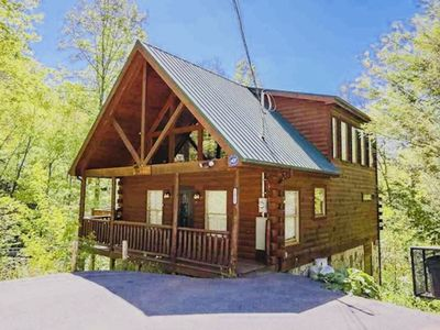 Photo for Beautiful Smoky Mountains Secluded Cabin!
