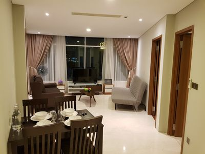 Photo for Modern Spacious Apartment in the heart of K.L/KLCC