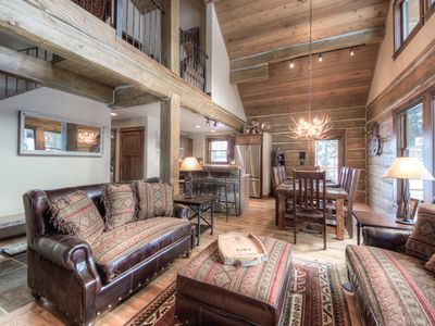 Photo for Log Cabin Right On Ski Slope For Access! Picture Perfect Backdrop For Vacation.