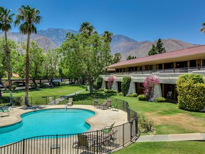 Photo for Sunny Views Condo *beautiful Palm Springs outdoor living!*