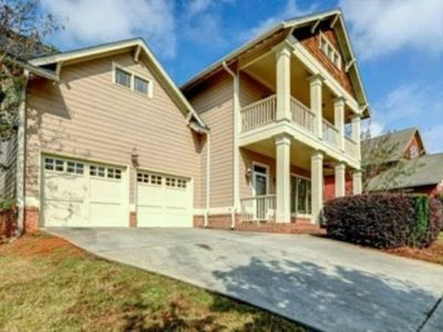 Photo for 3 Bedroom Home for the Super Bowl.  Close w/ Marta access