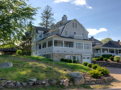 Photo for Luxury new, home with 3 state ocean views,in special  Groton Long Pt.