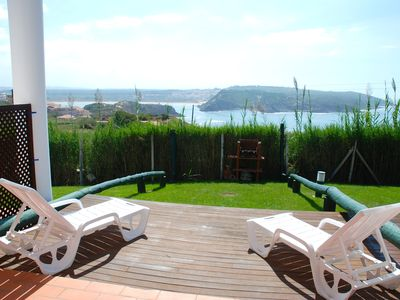 Photo for Mirror - Sea view 1 bedroom apartment in Sao Martinho Do Porto with pools