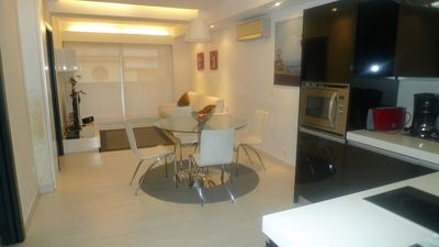 Photo for Chilliada E apartment in Centro with WiFi, air conditioning, balcony & lift.