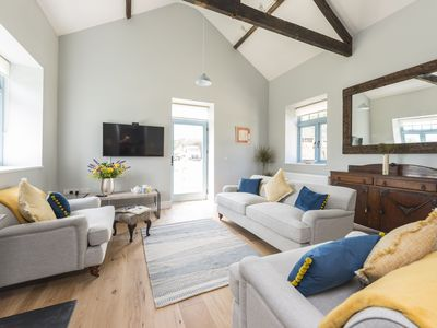 Photo for A beautiful detached barn conversion with stylish contemporary furnishings