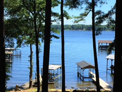 Photo for Sandy Beach, Main Lake, Deep Water and Pet Friendly