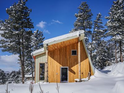 Photo for Award winning Passive House on secluded mountainside