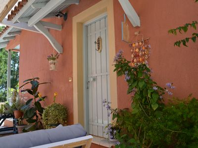 Photo for Kefalonia bungalows: 2 bedroom cottages in Spartia by picturesque sandy beach