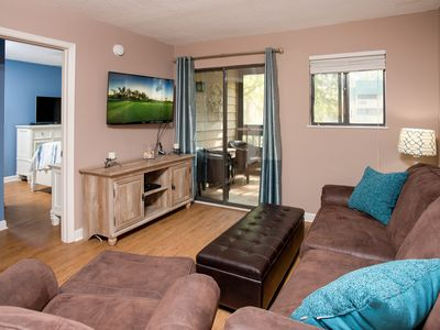 Photo for New Listing! Remodeled Condo at Serene Complex: 2 Pools, Tennis, Beach Access