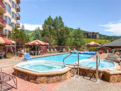 Photo for Slopeside Condo w/Panoramic View & Tons of Amenities, Great for Summer Vacation