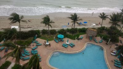 Photo for Luxury ocean Balcony view Apartment Right on The Beach.