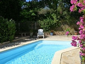 Relax by the pool....(more loungers out of shot!)