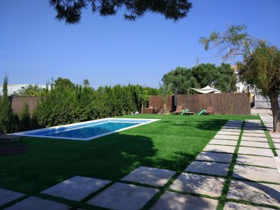 Photo for 4 bedrooms HOUSE WITH SWIMMING POOL BBQ & GARDEN NEAR THE BEACH