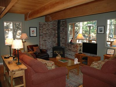 Photo for Dougherty: 3 BR / 2 BA house/cabin in Tahoe City, Sleeps 8