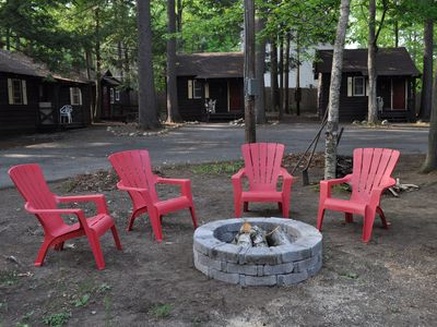Photo for Pine Grove Cottages #8 -- Charming Summer Cabin in Lake George Village