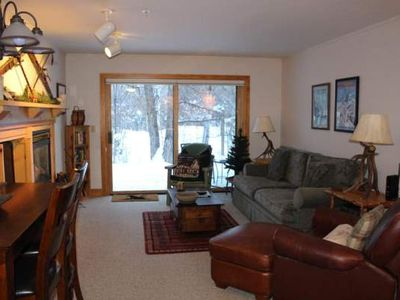 Photo for Spacious 2 bedroom/2 bath ground floor condo close to Grand Targhee Resort and Driggs.