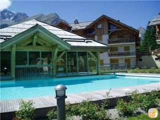 Photo for Ideal apartment for couples in Serre Chevalier near the pistes. Pool and sauna