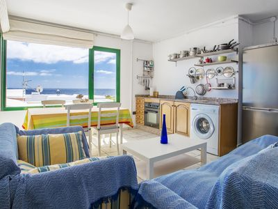 Photo for Charming Home on the Coast with Wi-Fi, Terrace and Gorgeous Views ; Pets Allowed