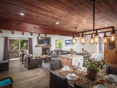 Photo for NEW Mtn Chalet - Luxe 6BD/3BA, A/C, Garage, Pool Table, Beach Club, Village
