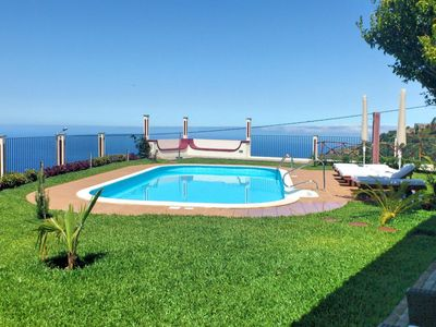Photo for Secluded Tranquil Spacious Villa, Stunning Views, Heated Pool & A/C   Theo's
