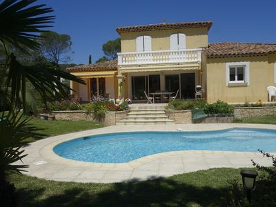 Photo for Villa with pool 6 people between beaches and golf courses