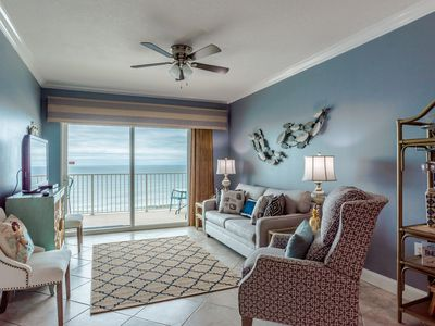 Photo for Great looking gulf front 2 Bedroom/2 Bath condo for a GREAT price!! Book online!
