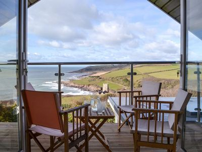 Photo for Located on the SW Coast path , stunning sea views and sunsets of Wembury Bay