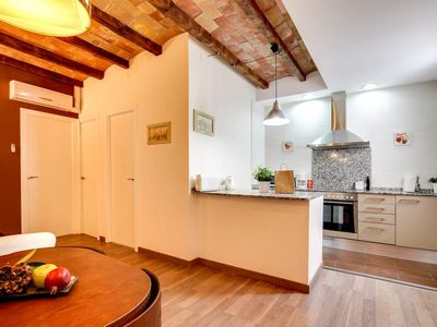 Photo for Modern 2bed flat in trendy Poble Sec