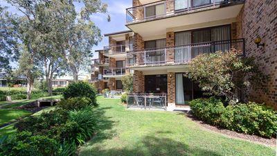 Photo for Bay Parklands, 57/2 Gowrie Ave - ground floor unit with pool, tennis court & aircon