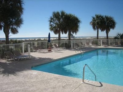 One of two pools, #203 The Dunes Fort Morgan.