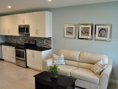 Photo for Contemporary Renovation, Direct Beach Access & Views