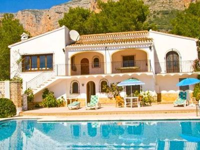Photo for ** JAVEA VILLA ** 4 Bedroom Villa with large 15x7m private pool, A/C, WIFI