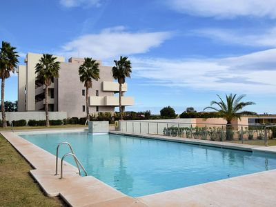 Photo for Modern apartment on the Valle del Este Golf resort, 10 min from the beach