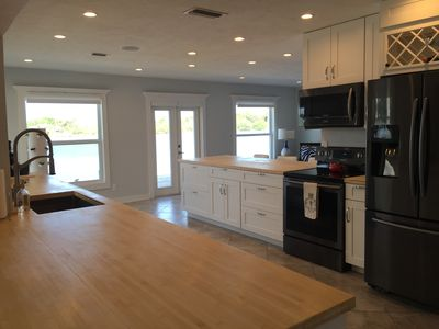 Photo for Intracoastal Waterfront House With Private Pool-Walk To Beach! Sleeps 6-8