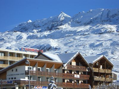 """Photo for Alpe d'Huez - very city center (""""The Games""""), T3 65m2 8pers"""