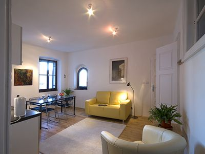 Photo for Free Wi-Fi at Castello- a spacious apartment in a Gothic house!