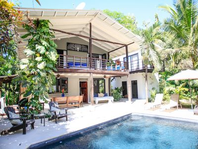 Photo for Beautiful Private Home W/ Pool, 5 Min Walk To Beach & World Class Surf Break!