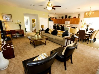 Photo for Enjoy Orlando With Us - Bella Vida Resort - Welcome To Spacious 5 Beds 4 Baths Townhome - 7 Miles To Disney